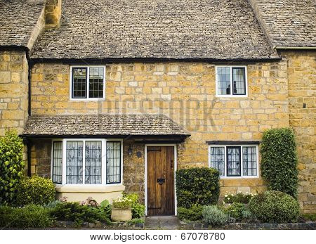 Traditional Rural Homes Scene