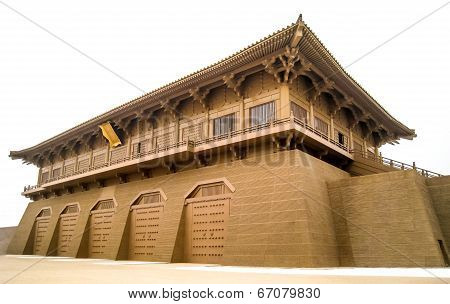 Ancient Chinese building