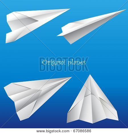 Paper toy planes