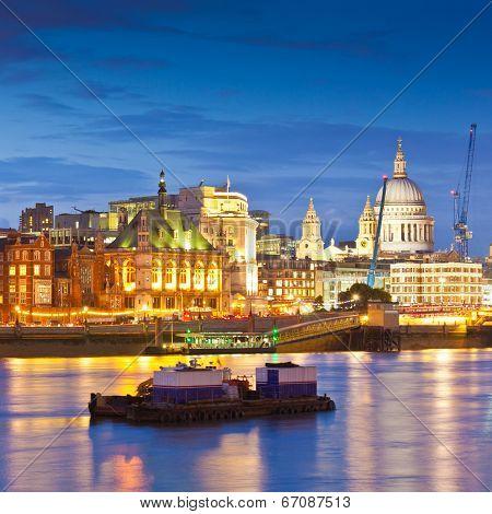 Thames, London, UK.
