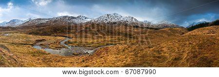 Scottish Highlands, Dramatic Sky