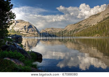 Tenaya Lake Reflection, Yosemite