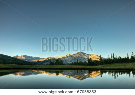 Mammoth Peak Sunrise Reflection