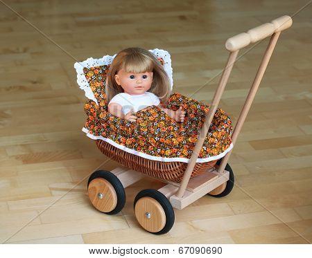 Stroller for doll