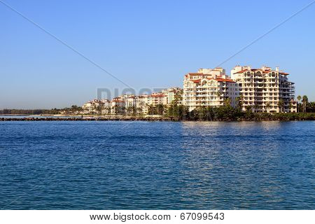 Condos on the water