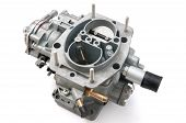 picture of carburetor  - New car carburetor on a white background - JPG