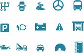 stock photo of transportation icons  - Vector icons pack  - JPG