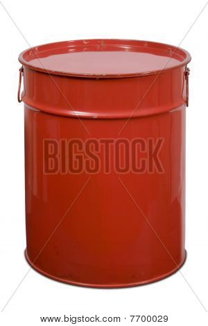 Red Large Can