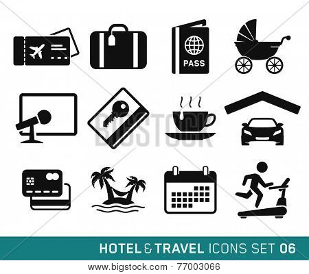 Hotel & Travel icons set // 06