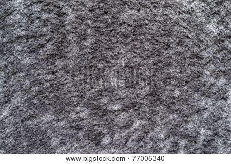 Soft Fluffy Texture Of Silvery Gray Color