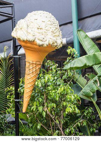 Ice Cream Cone Sign