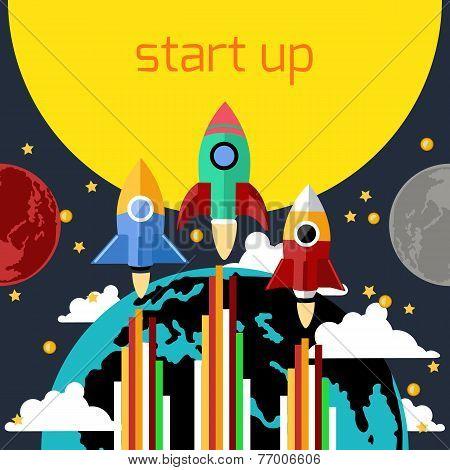 Start up rocket