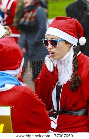 Stars & Stripes Santa