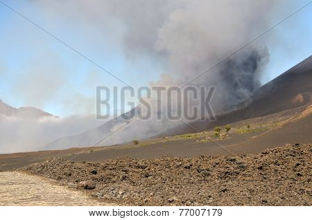 Approaching The Eruption