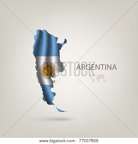 Flag of Argentina as a country