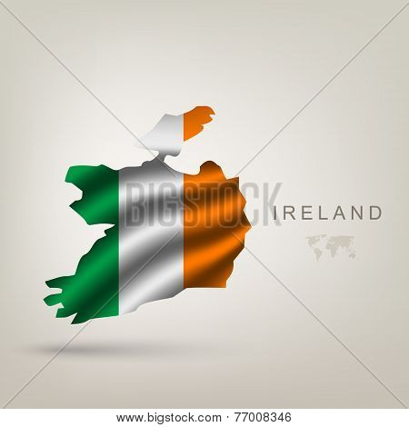 Flag of Ireland as a country