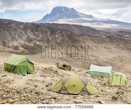 Mawenzi Peak, Kilimanjaro National Park, Tanzania, Africa