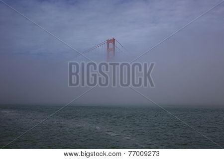 Misty Golden Gate Bridge