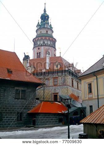 Church in Cesky Krumlov