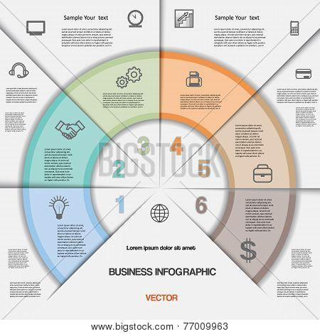 Business Infographic For Success Project