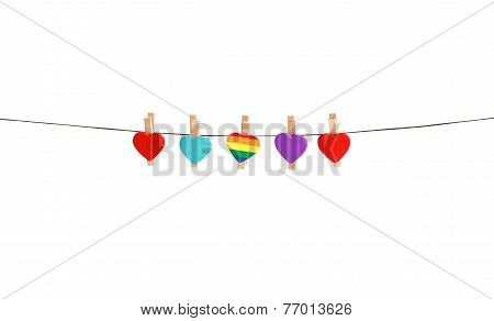 Different kinds of love. Equality