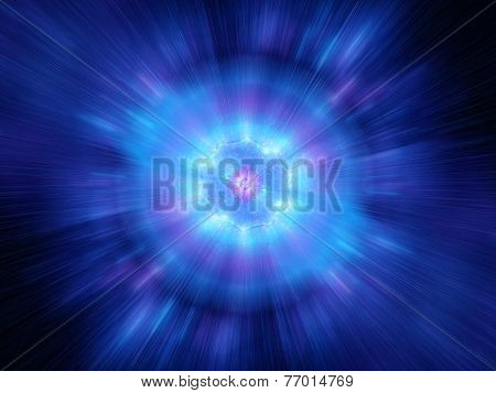 Big Bang In Space