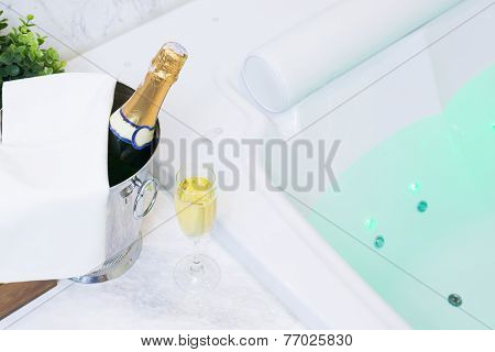 Champagne and Jacuzzi Spa