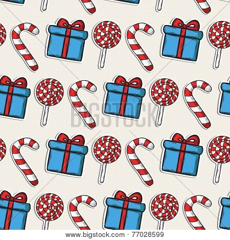 Vector Christmas pattern