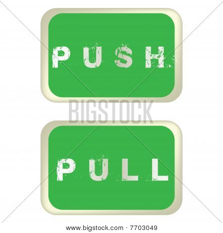 Push And Pull Labels