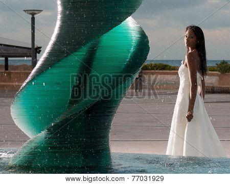 Brazilian Model Posing