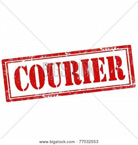 Courier-stamp