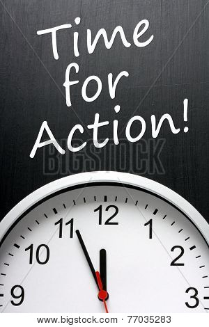 Time For Action!