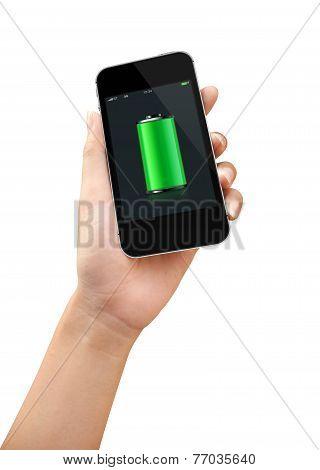 Smart Phone Full Battery