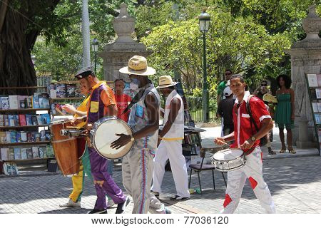 Street Music in Havana