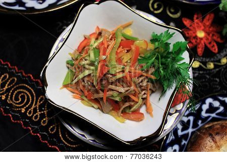 Boiled Veal With Vegetables