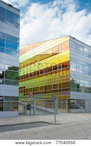Glass Office Building Netherlands