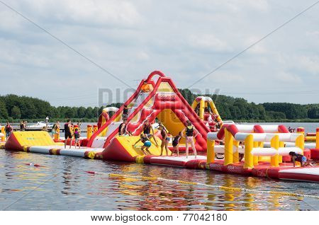 Inflatable Water Park Netherlands