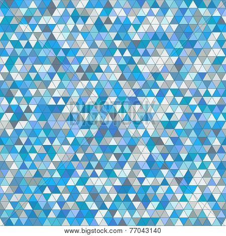 Colored Triangle Seamless Pattern Background