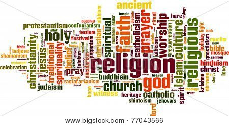 Religion Word Cloud