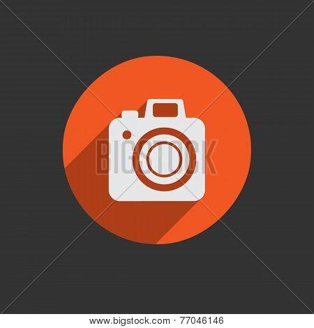 Element For Web Design. Photo Camera. Vector