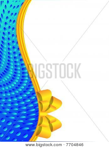 Blau Abstract Background