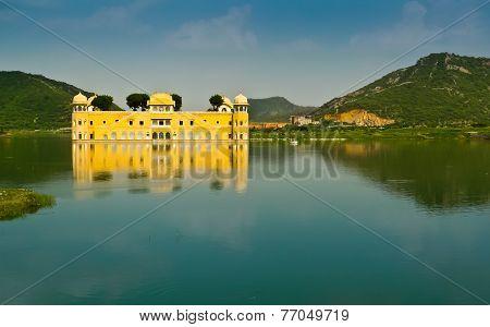 Jal Mahal Palace Horizontal View