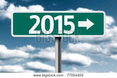 2015 creative green sign