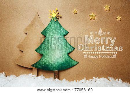 Handmade Paper Craft Christmas Tree