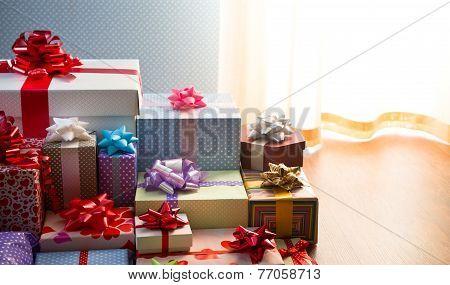 Plenty Of Colorful Presents