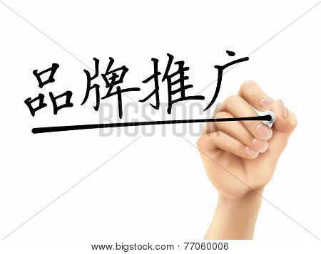 Simplified Chinese Words For Branding