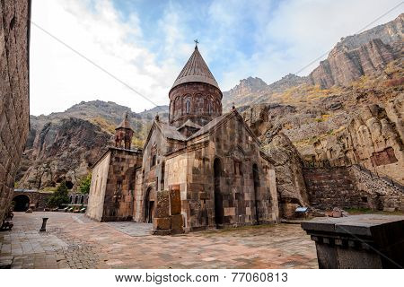 Geghardavank In Armenia
