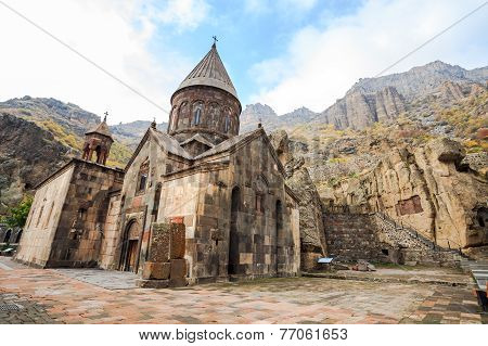 Monastery Of Geghard In Armenia