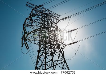 Electricity Pylon Closeup