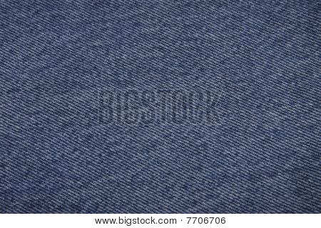 Blue denim fabric background